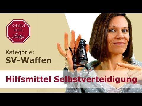 Hilfsmittel zur Selbstverteidigung / Selbstverteidigungswaffen: Übersicht & Anwendungsbereiche