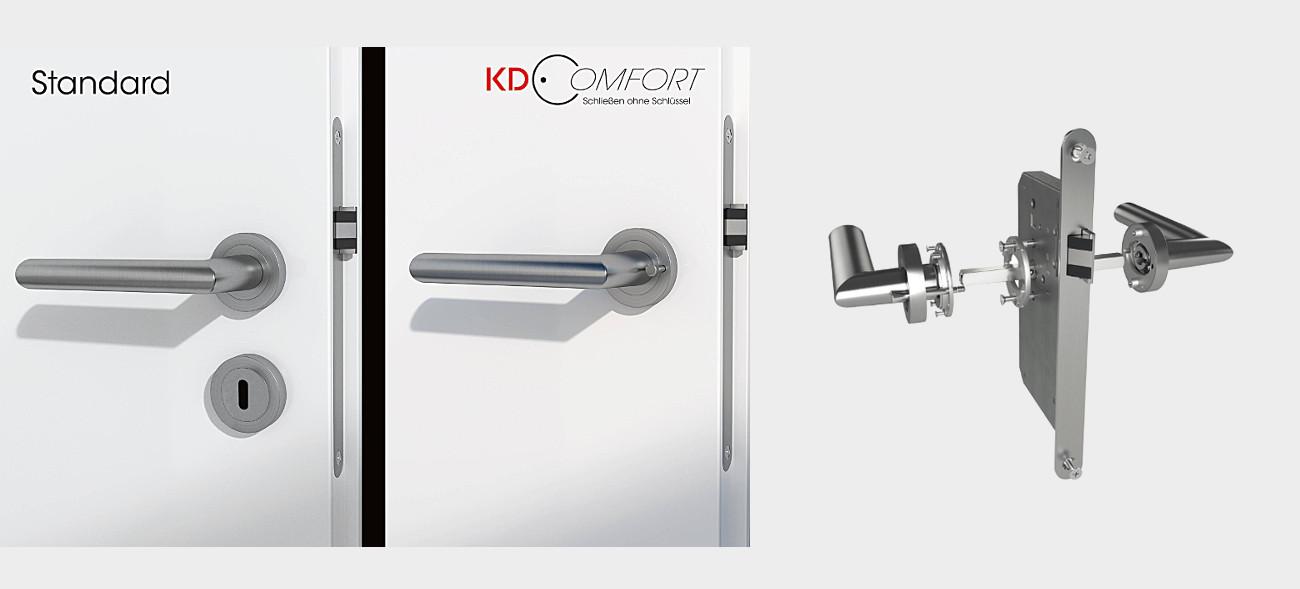 Tschüss Schlüssel – innovative Schließsysteme