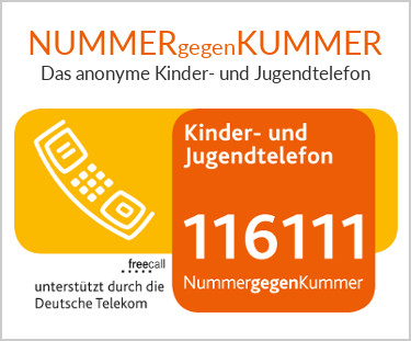 Nummer gegen Kummer – das Kinder- und Jugendtelefon