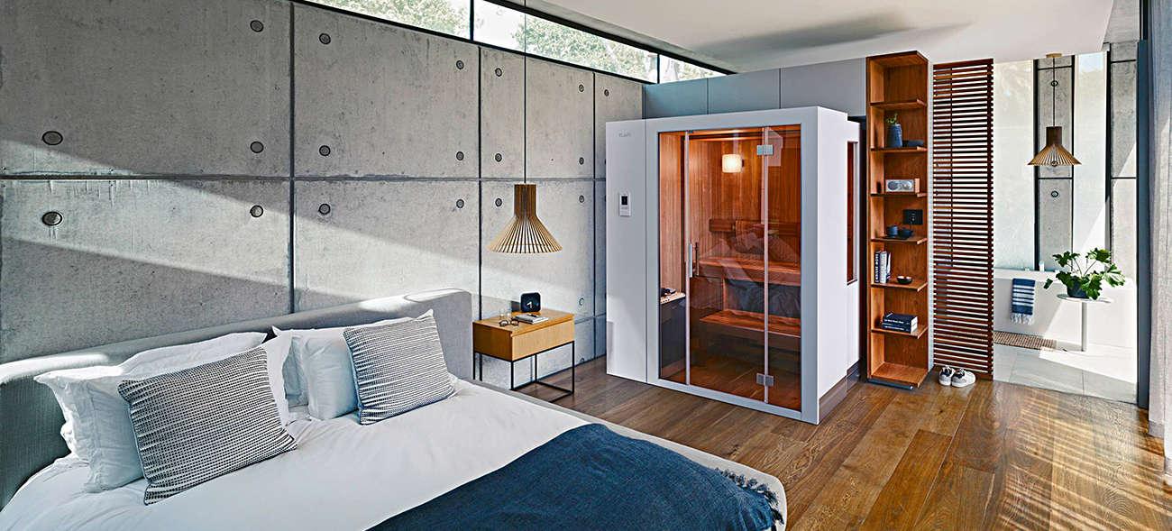 Die Sauna als Möbelstück mit Wellnessfaktor