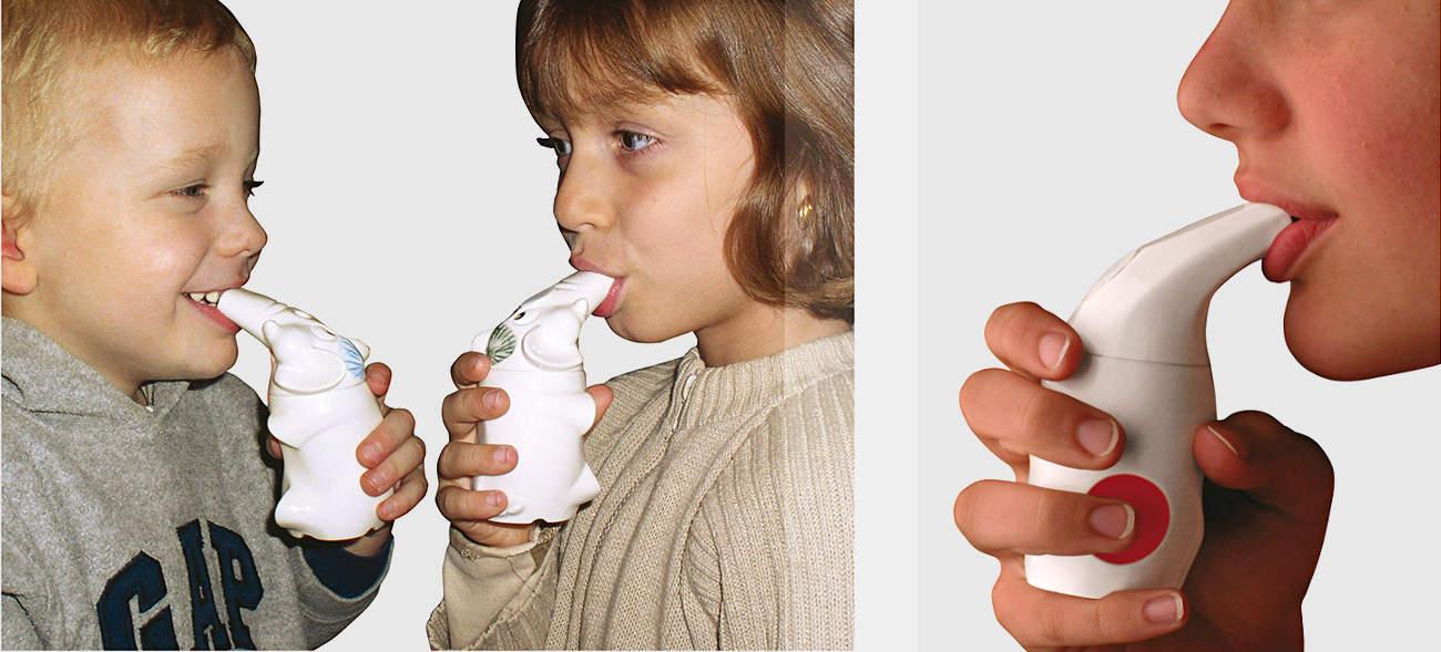 Inhalation mit Salzpfeifen – freie Atemwege für die ganze Familie