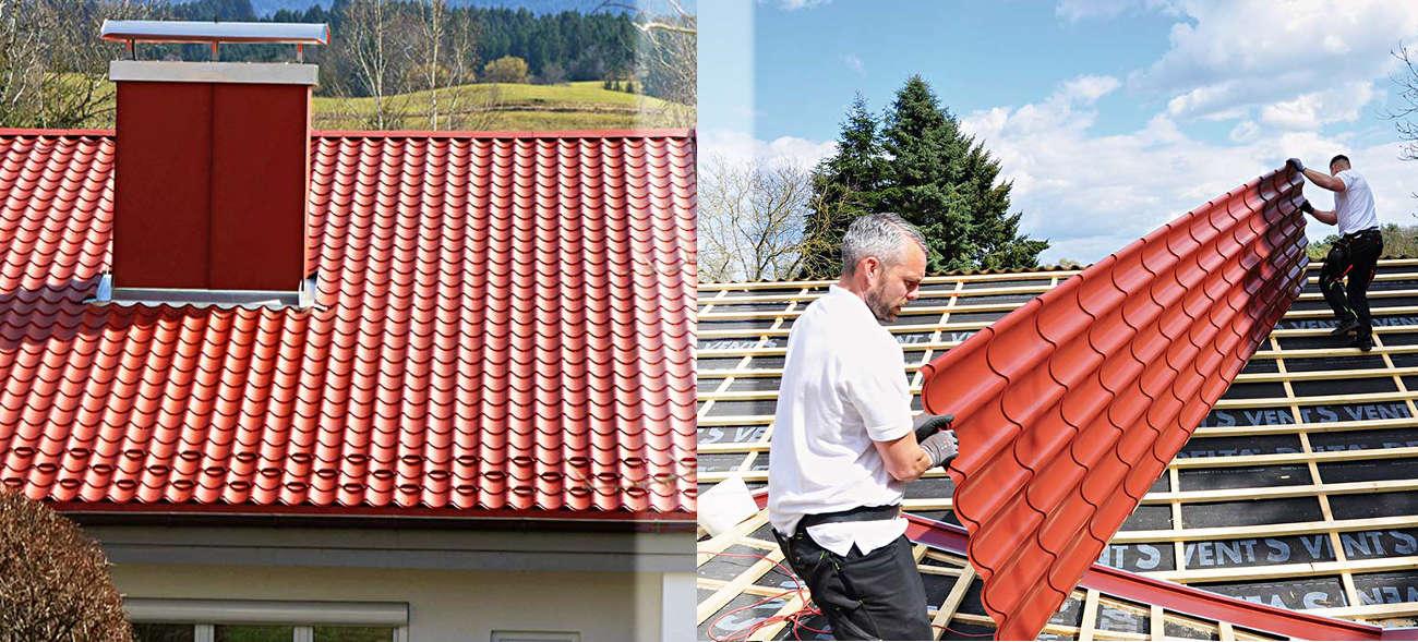Wetterextreme: Metalldachpfannen schützen das Haus zuverlässig vor Wetterextremen