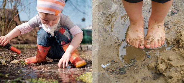 Für Kinder ist es wichtig, mit Mikroorganismen in Berührung zu kommen.
