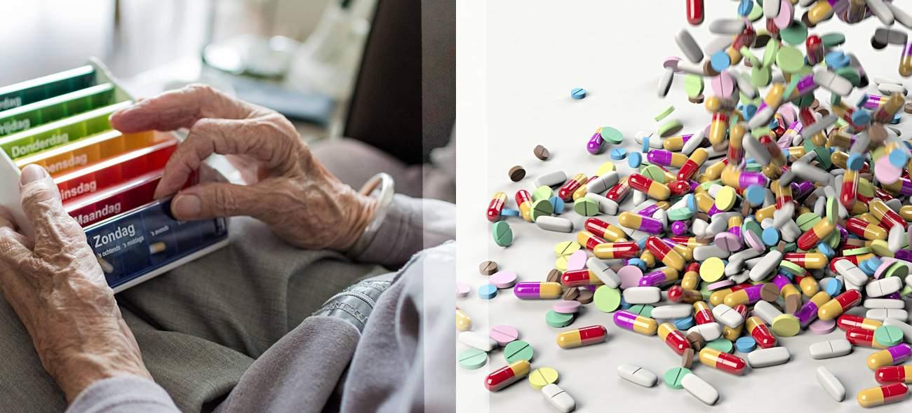 Lose gelagerte Medikamente können einen Teil ihrer Wirkung verlieren