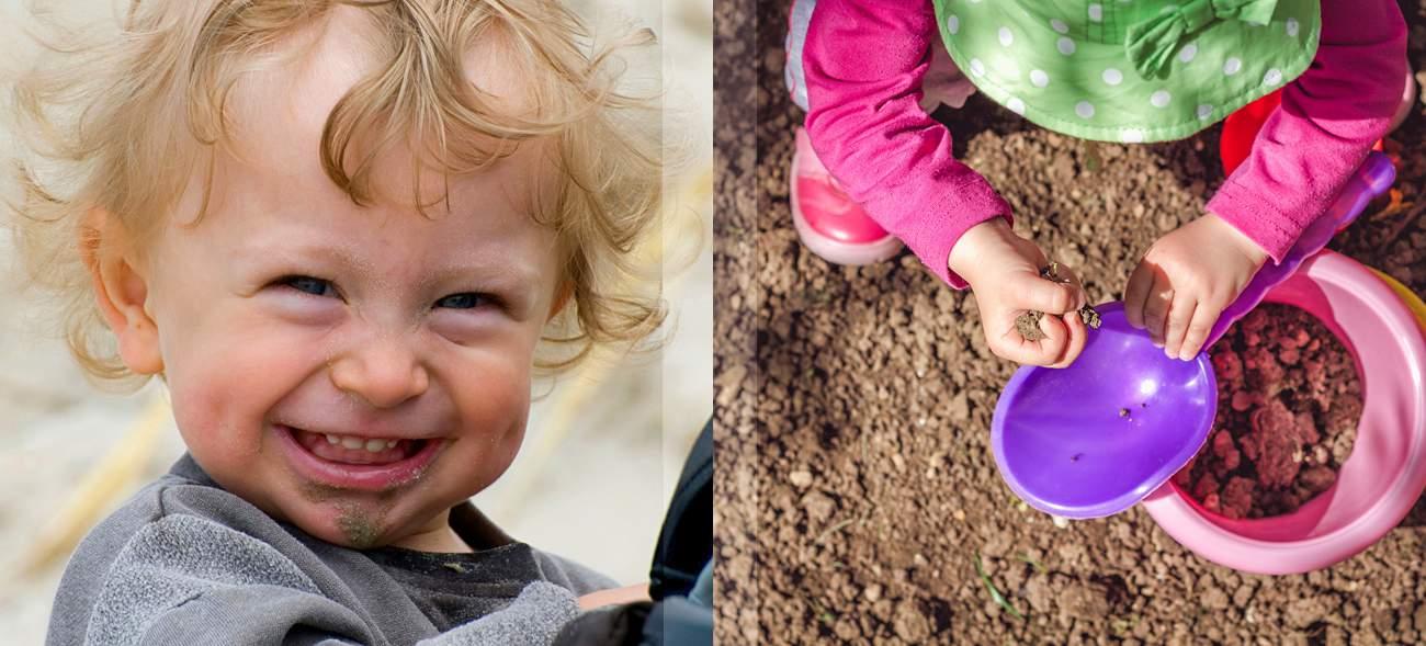 Kleiner Dreckspatz: Spiel und Spaß im Sandkasten