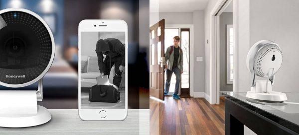 Mit smarten Sicherheitskameras lassen sich sicherheitsrelevante Bereiche des eigenen Zuhauses über Smartphone und andere mobile Endgeräte überwachen.
