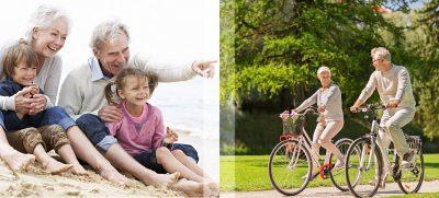Wir Großeltern genießen es, mit unseren Enkeln die Welt zu entdecken. Unangenehm, wenn die Prostata dabei Probleme macht.