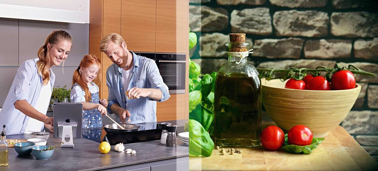 Rezepte von Chef- und Sterneköchen dank Koch-App mit Leichtigkeit zubereiten.