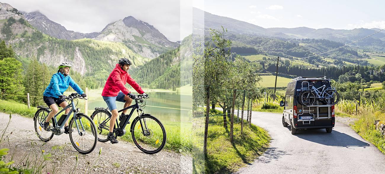 Hochwertige Helme: ein Muss für sichere Fahrradferien