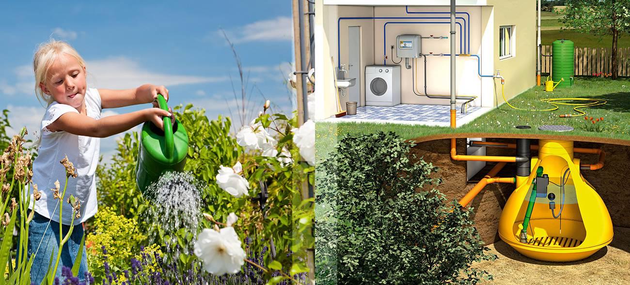 Unterirdische Zisterne im Garten – so können wir Regenwasser effektiv nutzen