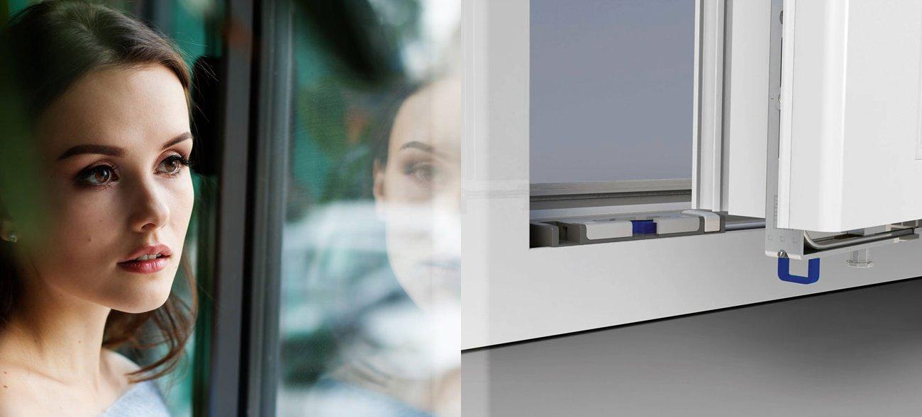 Das Kippspatelschließblech sitzt direkt im Falz, sodass es von außen unsichtbar ist – die Fensteroptik bleibt erhalten. Foto: pixabay / nastya_gepp / epr / Winkhaus