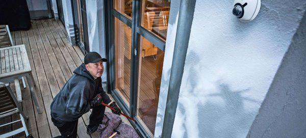 Hier kommt niemand rein: Mechatronischer Einbruchschutz für ein sicheres Zuhause. Foto: djd / Abus