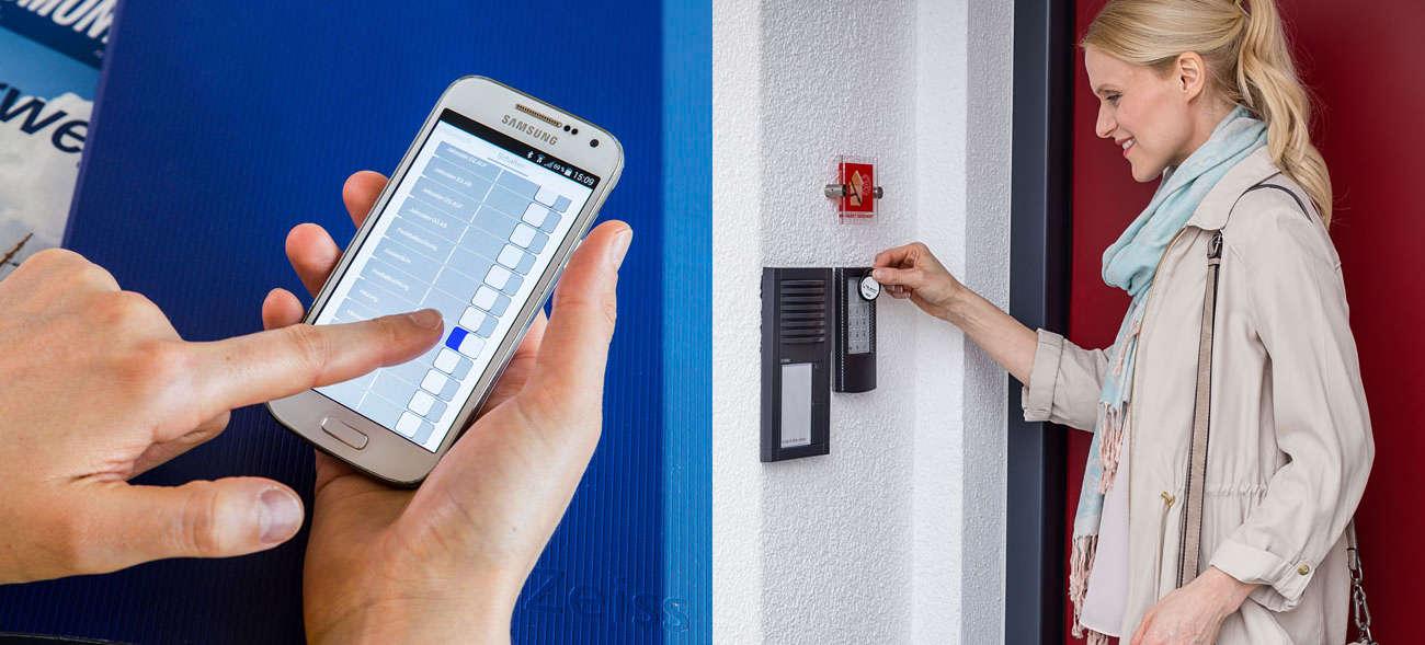 Gut gesichert gegen Langfinger können wir die eigenen vier Wände auch mal länger unbeaufsichtigt lassen. Foto: djd / Telenot Alarmsysteme