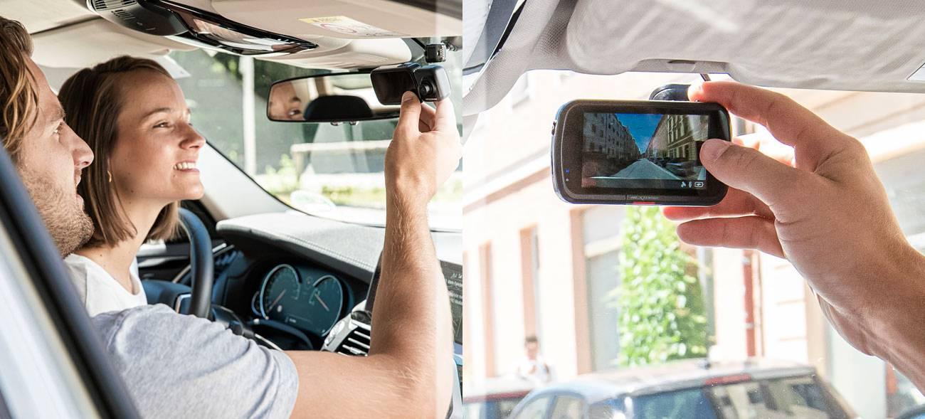 Schnelle Klärung des Unfallhergangs dank Dashcam im Auto