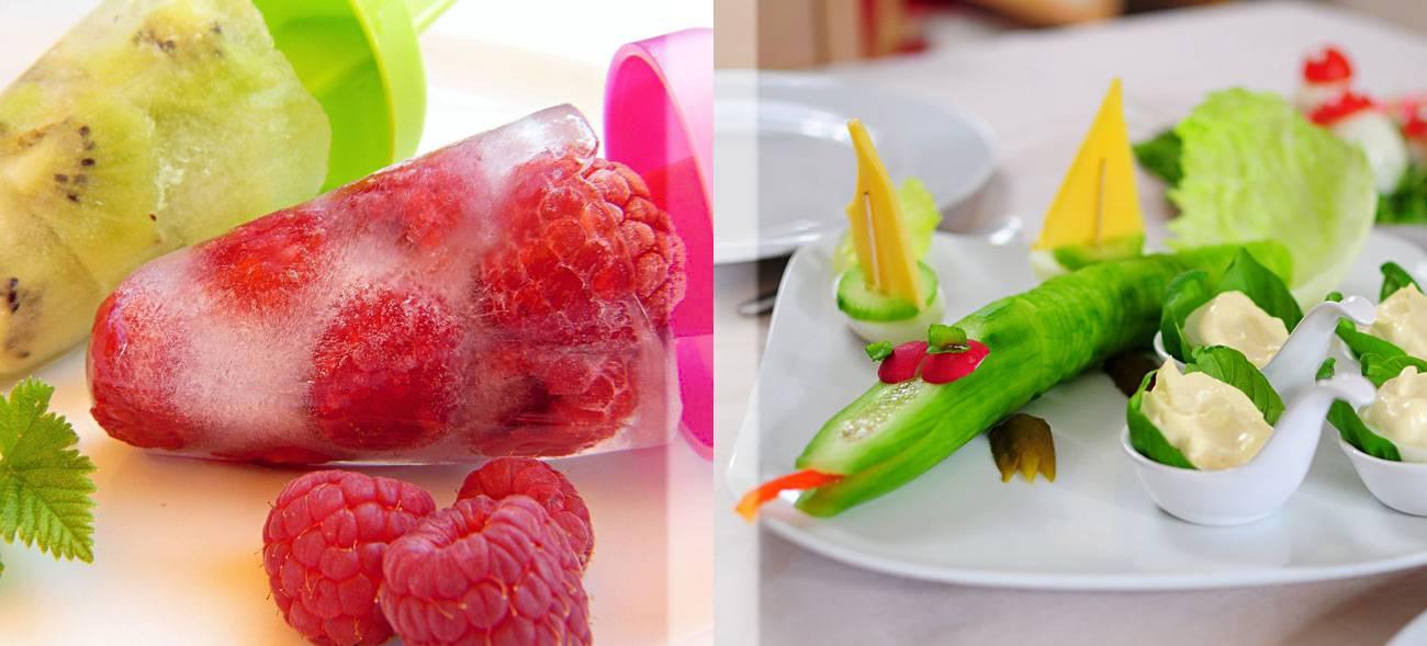 Kinder essen Obst und Gemüse lieber, wenn es interessant aussieht