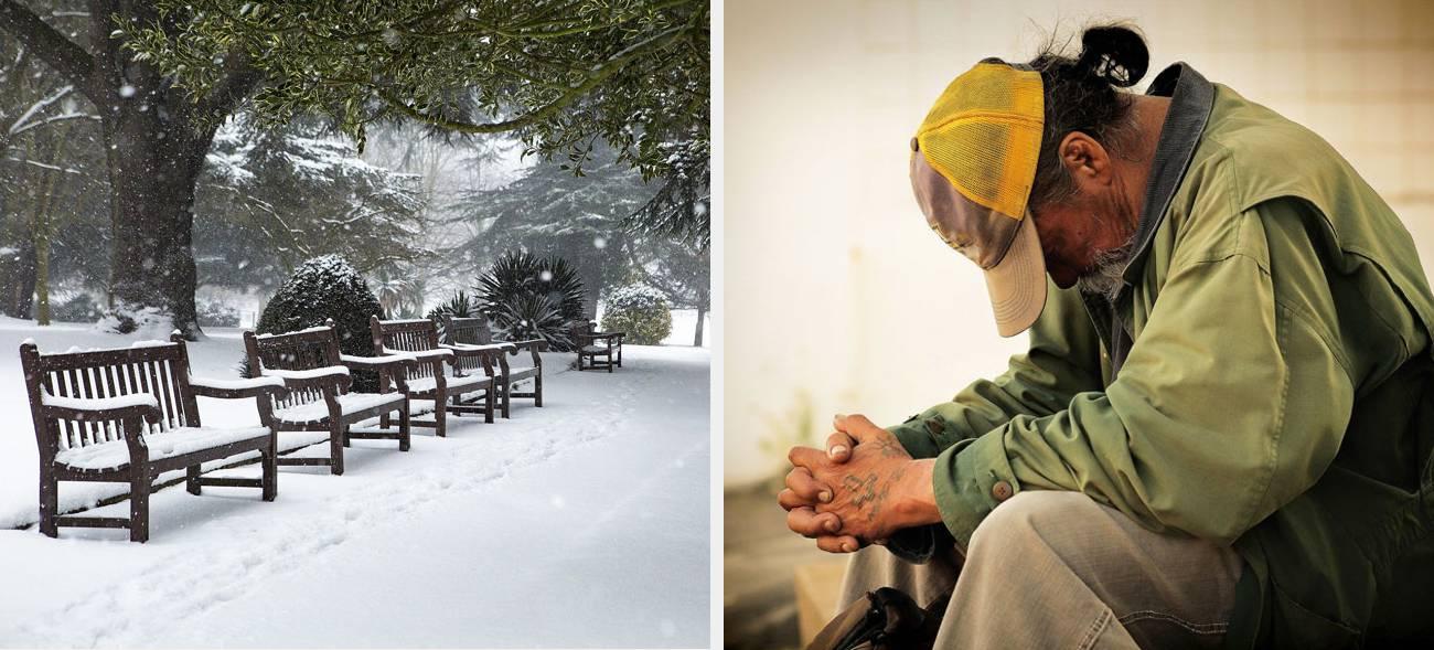 Im Winter haben Obdachlose es besonders schwer. Doch nicht jede(r) möchte Hilfe annehmen.