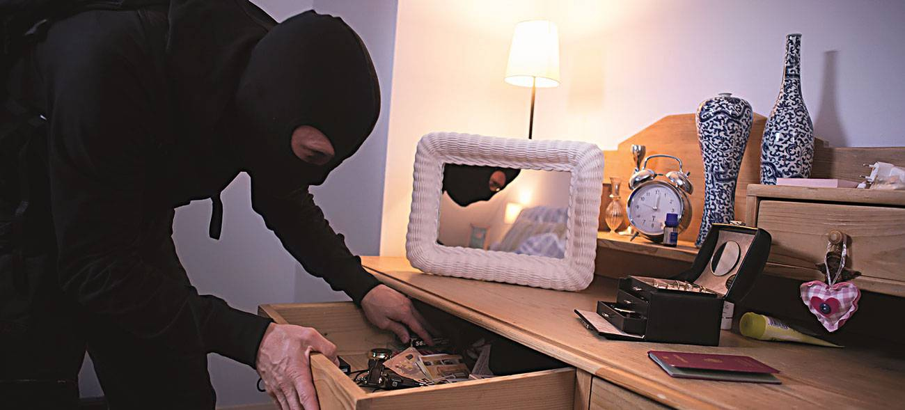Sind die Einbrecher einmal im Haus, ist nichts mehr sicher.
