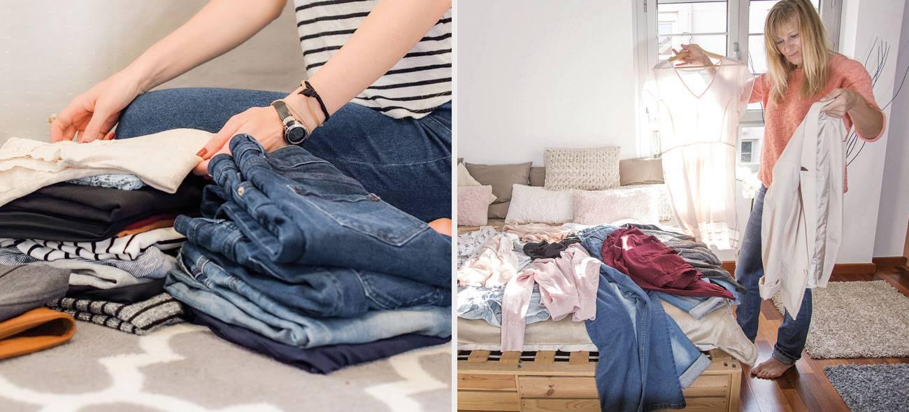 Minimalismus im Kleiderschrank rockt
