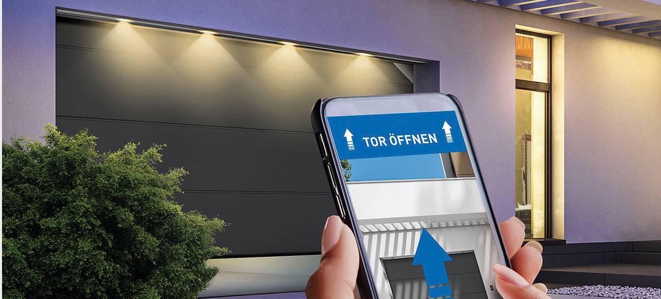 Smarte Garagentore – Steuerung per App