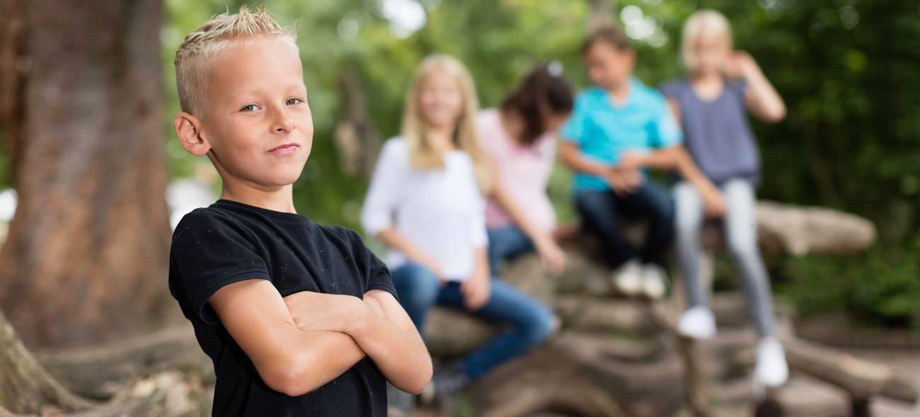 Starke Kinder haben es leichter in Schule und Freizeit
