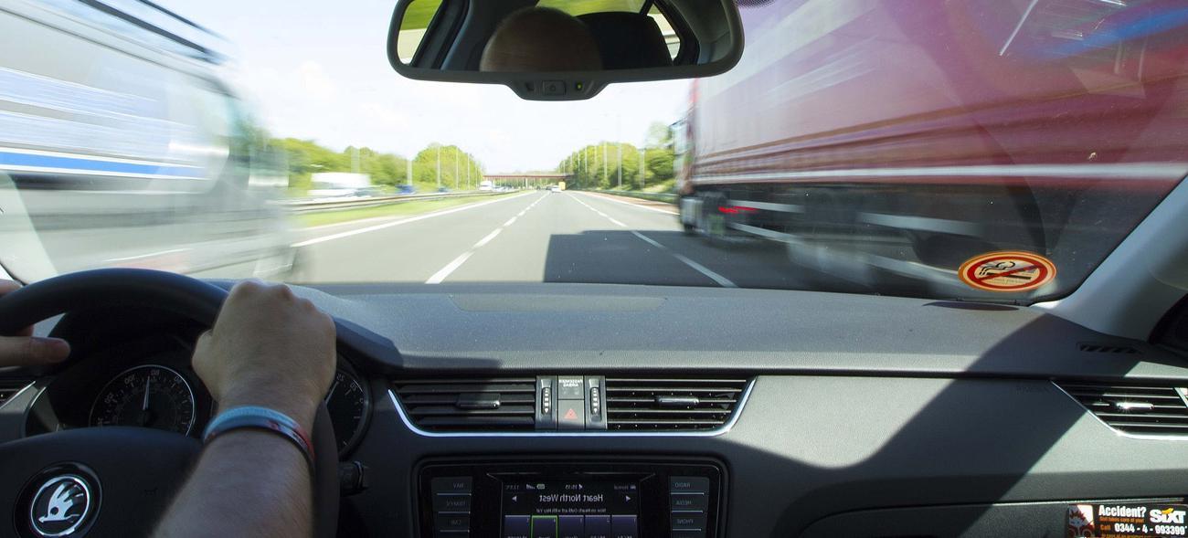 Autounfall – Albtraum auf der Autobahn
