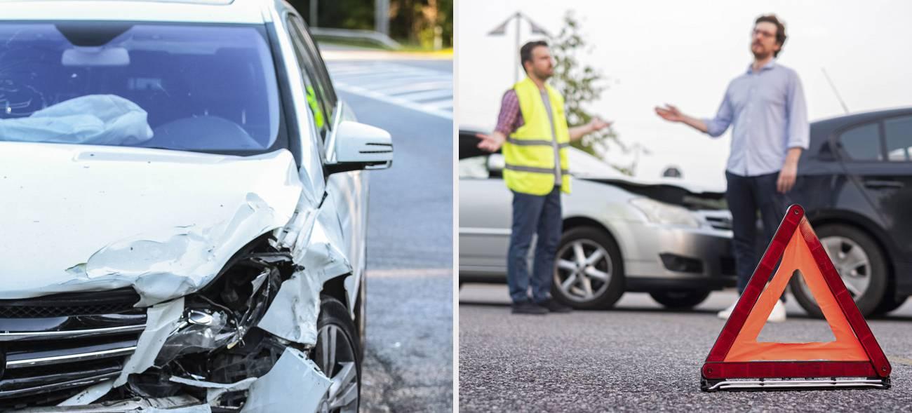 Beim Autounfall richtig reagieren