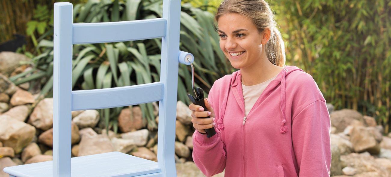 Farben für Holz oder Metall – umwelt- und gesundheitsfreundlich