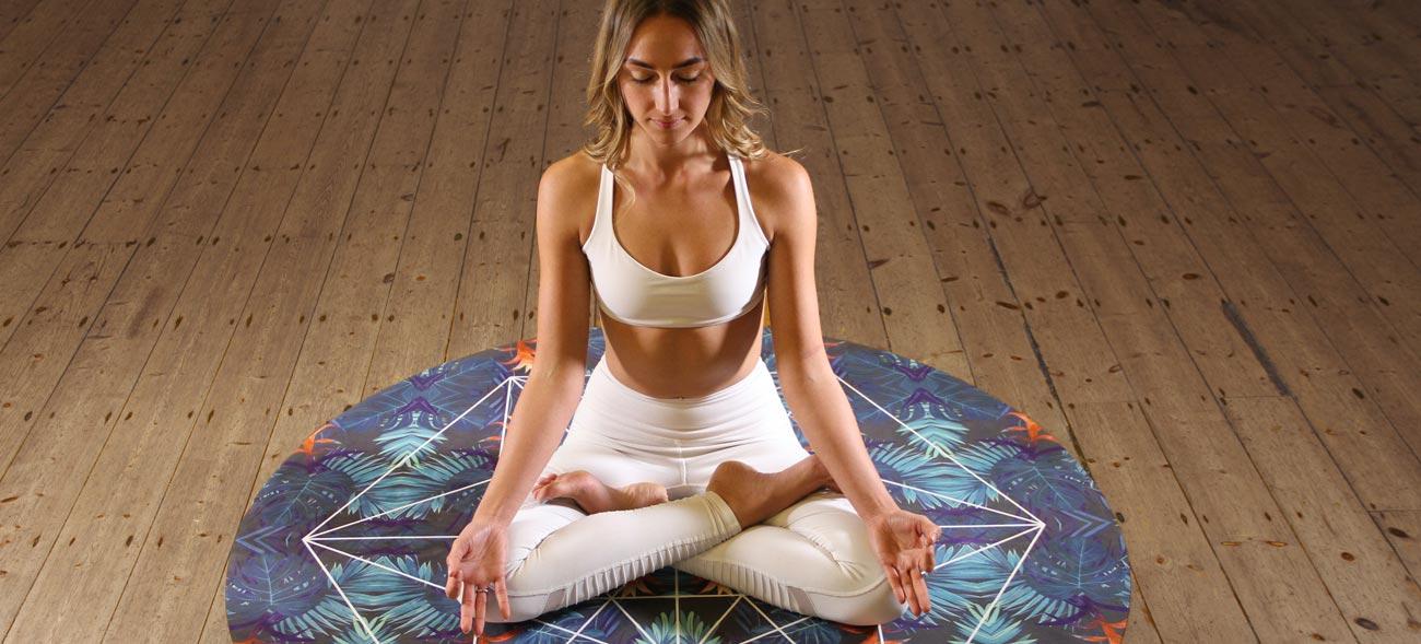 Meditation und Autogenes Training kann beim Einschlafen helfen