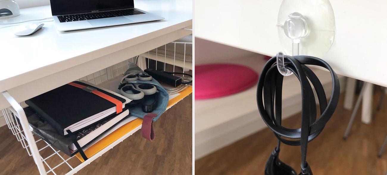 Ordnungssysteme schaffen Übersicht im Home-Office