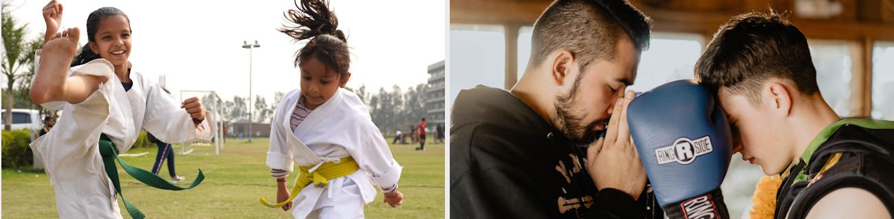 Kampfsportarten – verschiedene Stile stellen sich vor