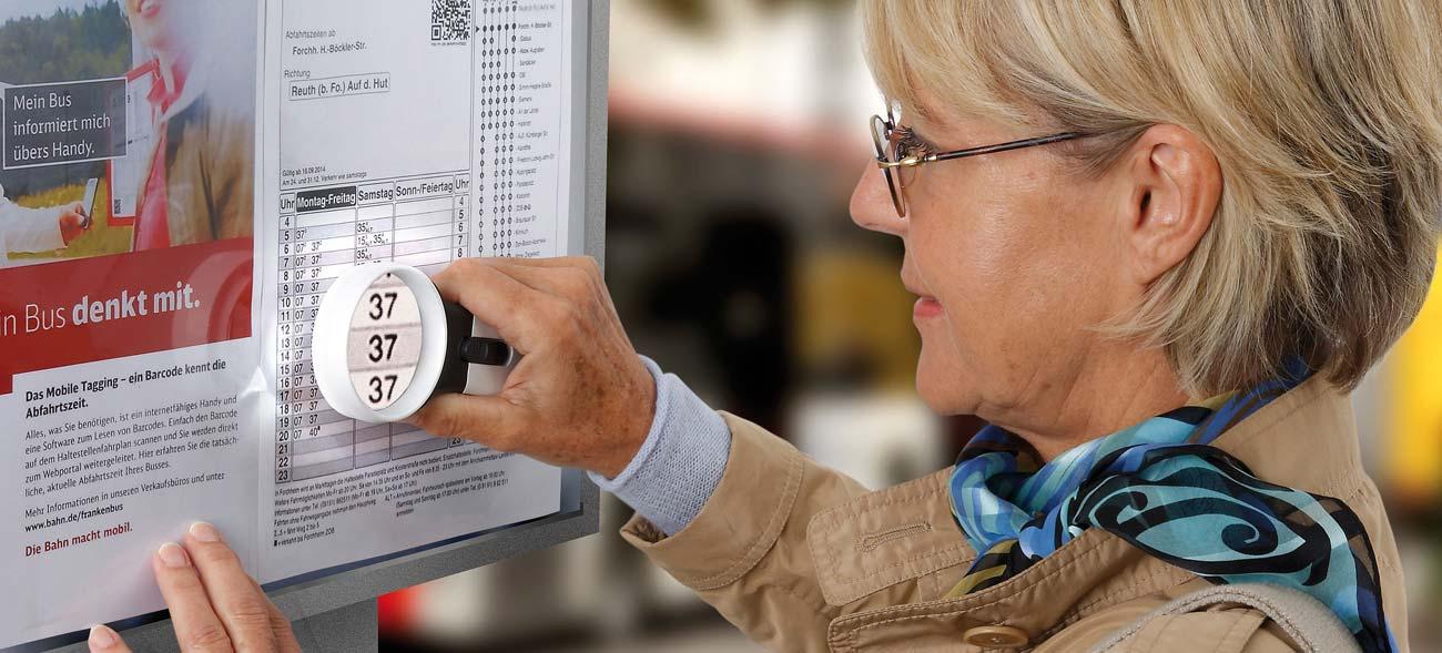 Lupen sorgen für Durchblick: Sehilfen ohne Batteriewechsel