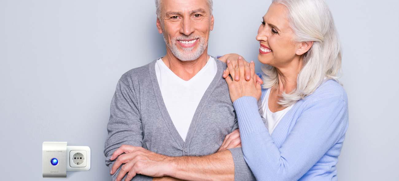 Schutz vor Elektrosmog im Mittelpunkt – auch im Alter